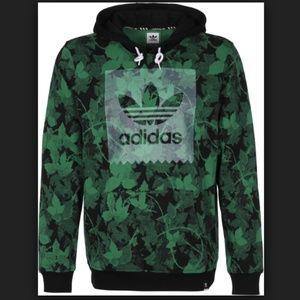 NWT Adidas Poison Ivy League AOP hoodie